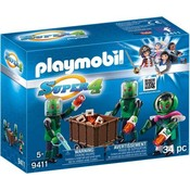 Playmobil Playmobil Super4 Sykronian Aliens 9411