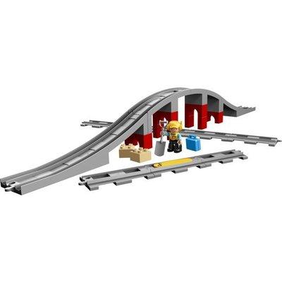 Lego Duplo Lego Duplo Treinbrug en Rails 10872