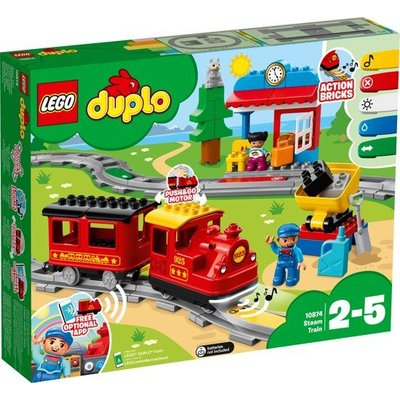 Lego Duplo Lego Duplo Stoomtrein 10874