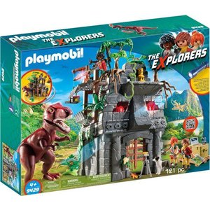 Playmobil Explorers Basiskamp van de Explorers met T-Rex 9429