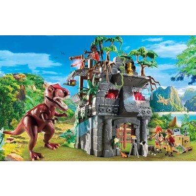 Playmobil Playmobil Explorers Basiskamp van de Explorers met T-Rex 9429