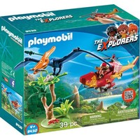 Playmobil Explorers Helikopter met Pterandon 9430