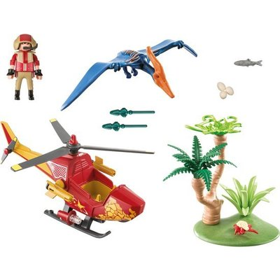Playmobil Playmobil Explorers Helikopter met Pterandon 9430