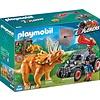 Playmobil Playmobil Explorers Offroadbuggy met Dinovangnet 9434