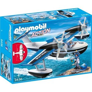Playmobil Action Politiewatervliegtuig 9436