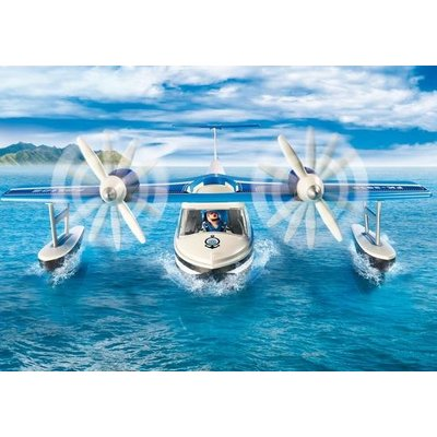 Playmobil Platmobil Action Politiewatervliegtuig 9436