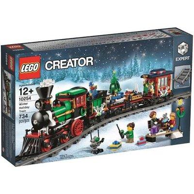Lego Lego Creator Feestelijke Kersttrein 10254