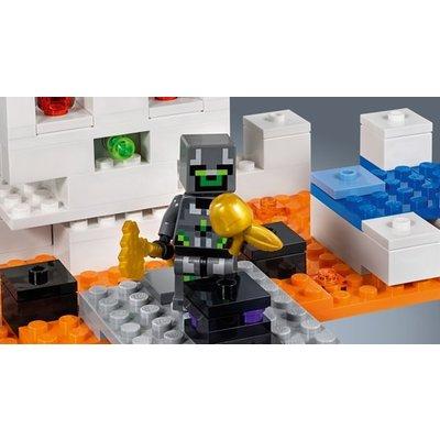 Lego Lego Minecraft De Schedelarena 21145