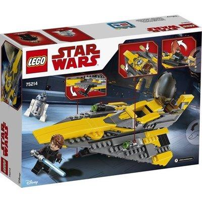 Lego Lego Star Wars Anakin's Jedi Starfighter 75214