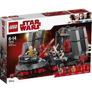 Lego Star Wars Snoke's Troonzaal 75216