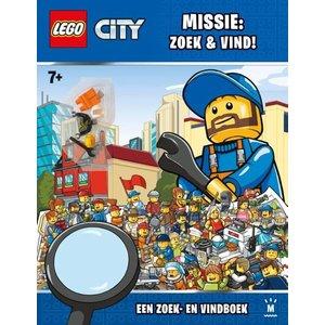 Lego City Zoek en Vind Boek 700349