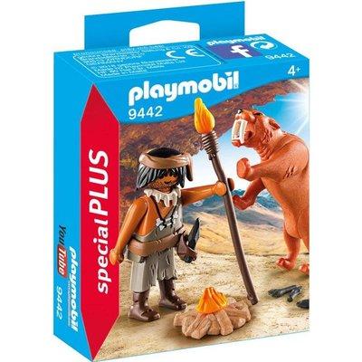 Playmobil Playmobil Special Plus Neanderthaler met Sabeltandtijger 9442