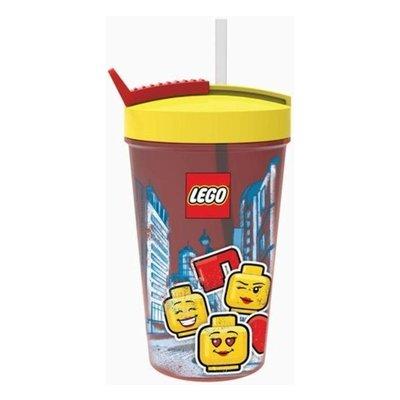 Lego Lego Drinkbeker met Rietje Iconic Girl 700374
