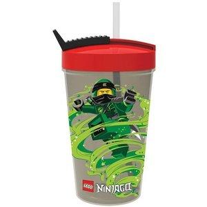 Lego Ninjago Drinkbeker met Rietje Classic 700376