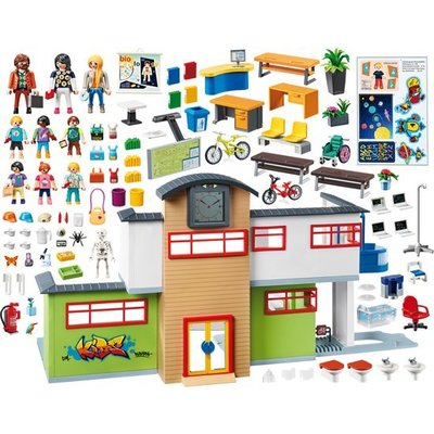 Playmobil Playmobil City Life Ingerichte School 9453