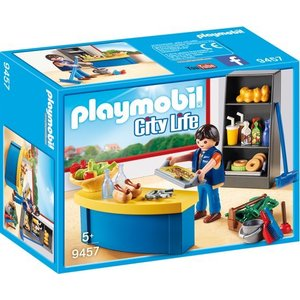 Playmobil City Life Schoolconciërge met Kiosk 9457