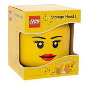 Lego Lego Storagehead Girl Large 700352