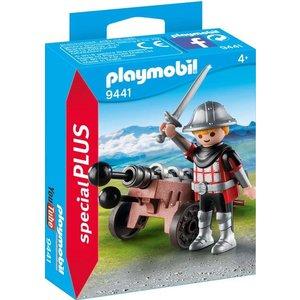 Playmobil Special Plus Ridder met Kanon 9441