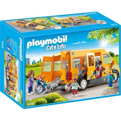 Playmobil Playmobil City Life Schoolbus 9419