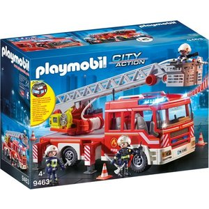 Playmobil City Action Brandweer Ladderwagen 9463