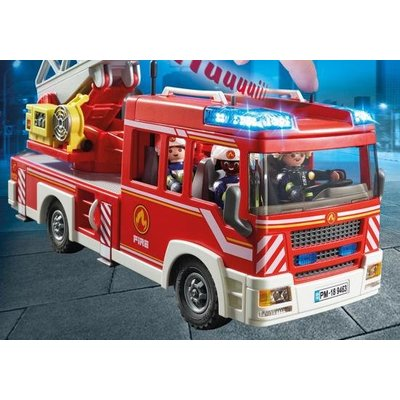 Playmobil Playmobil City Action Brandweer Ladderwagen 9463
