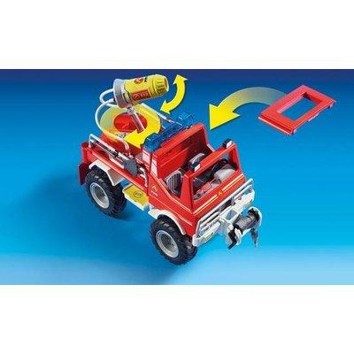 Playmobil Playmobil City Action Brandweer Terreinwagen met Waterkanon 9466