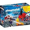 Playmobil Playmobil City Action Brandweerteam met Waterpomp 9468