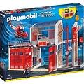 Playmobil City Action Grote Brandweerkazerne met Helikopter 9462