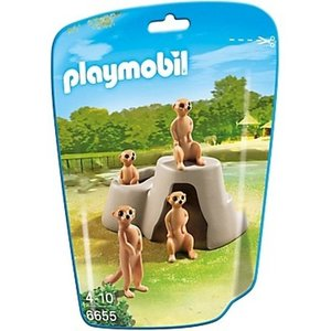 Playmobil City Life Stokstaartjes 6655