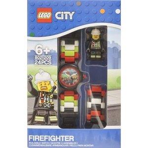 Lego City Brandweerman Horloge
