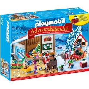 Playmobil Kerstatelier met Elven Adventskalender 9264