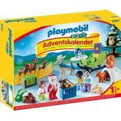 Playmobil Playmobil 123 Kerst in het Dierenbos Adventskalender 9391