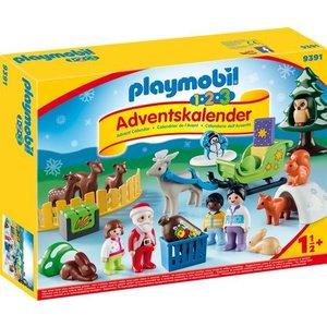 Playmobil 123 Kerst in het Dierenbos Adventskalender 9391