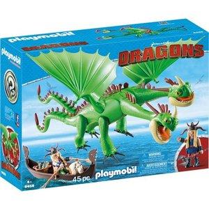 Playmobil Dragons Morrie en Schorrie met Burb en Braak 9458