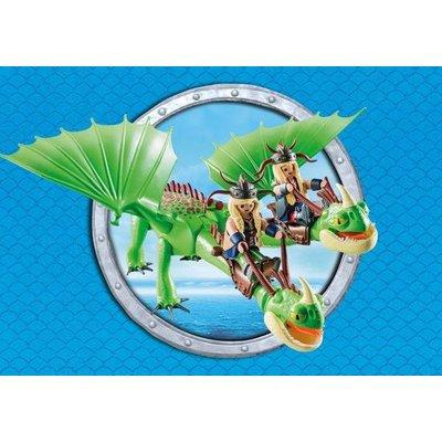 Playmobil Playmobil Dragons Morrie en Schorrie met Burb en Braak 9458