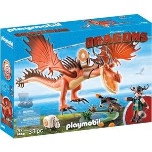 Playmobil Dragons Snotvlerk en Haaktand 9459