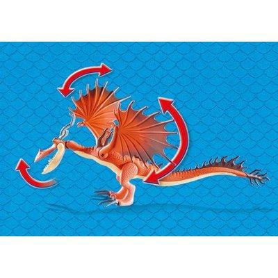 Playmobil Playmobil Dragons Snotvlerk en Haaktand 9459