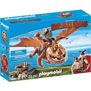 Playmobil Dragons Vissenpoot en Speknekje 9460