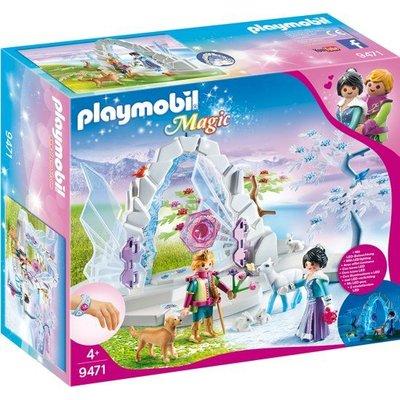 Playmobil Playmobil Magic Kristallen Poort naar Winterland 9471
