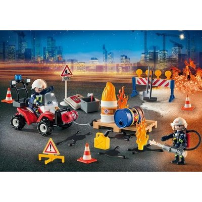 Playmobil Playmobil City Action Interventie op het Bouwterrein Adventskalender 9486