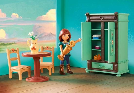 Playmobil Dollhouse Slaapkamer : Playmobil spirit lucky s slaapkamer abctoys