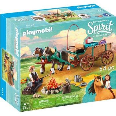 Playmobil Playmobil Spirit Lucky's Vader en Wagen 9477