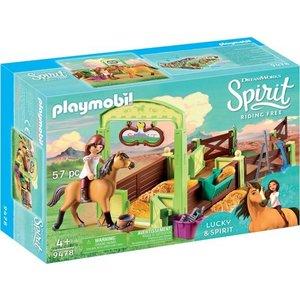 Playmobil Spirit Lucky en Spirit met Paardenbox 9478