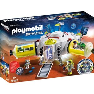 Playmobil Space Ruimtestation op Mars 9487