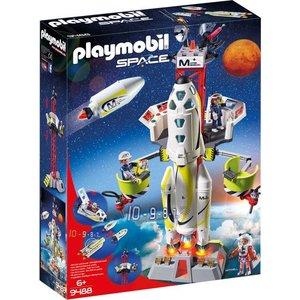 Lego Space Mars Raket met Lanceerplatform 9488