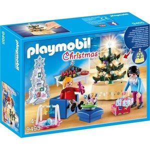 Playmobil Christmas Woonkamer in Kerststijl 9495