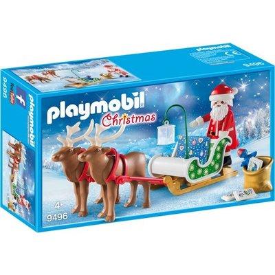 Playmobil Playmobil Christmas Kerstslee met Rendieren 9496