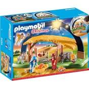 Playmobil Playmobil Christmas Kerststal met Heldere Ster 9494