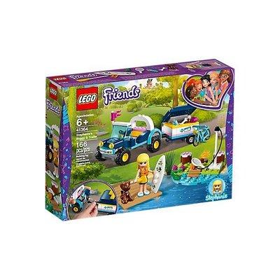 Lego Lego Friends Stephanie's Buggy en Trailer 41364
