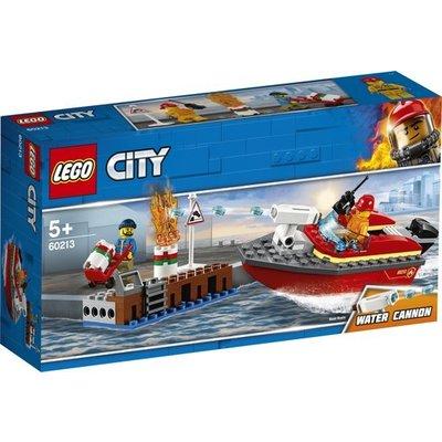 Lego Lego City Brand aan de Kade 60213